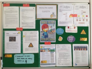 health and safety noticeboard