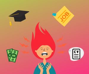 graduates mental health and stress