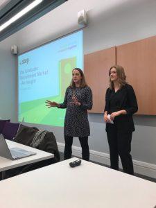 Step presenting at Universities